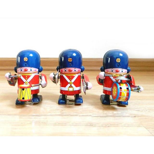 Robot Giocattoli carica a molla Macchina Robot Batteria Metallico Ferro Vintage ▾ 1 pcs Per bambini Per adulto Da ragazzo Da ragazza Giocattoli Regalo