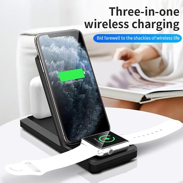 LITBest 2.5/3/5/7.5/10/15 W Puissance de sortie Chargeurs sans fil 3 en 1 Chargeur Sans Fil Kit Chargeur RoHs CE FCC Pour