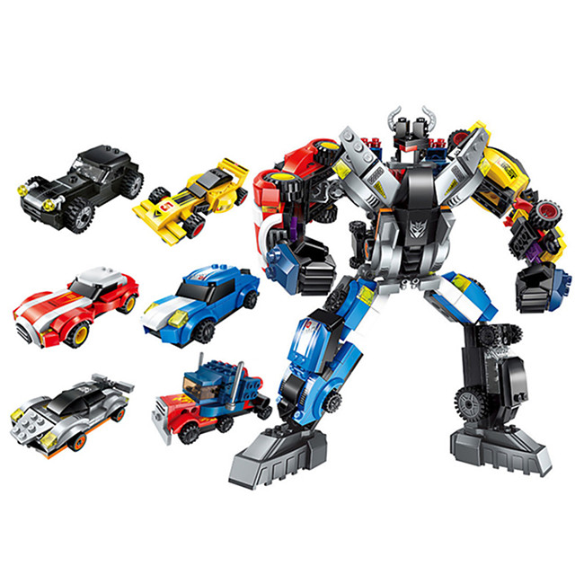 Blocs de Construction 518 pcs Robot compatible ABS + PC Legoing Simulation Tous Jouet Cadeau / Enfant