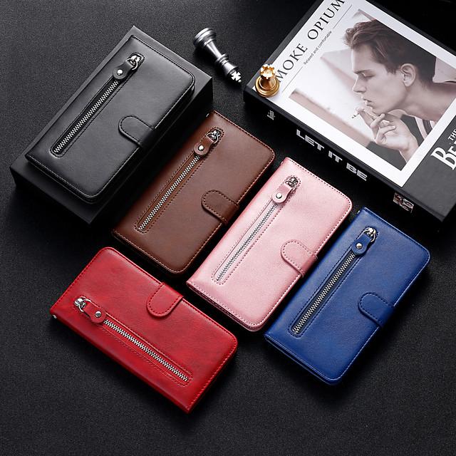 Carcasă Pro Samsung Galaxy S20 Plus / S20 Ultra / S20 Nárazuvzdorné Celý kryt Jednobarevné PU kůže / TPU