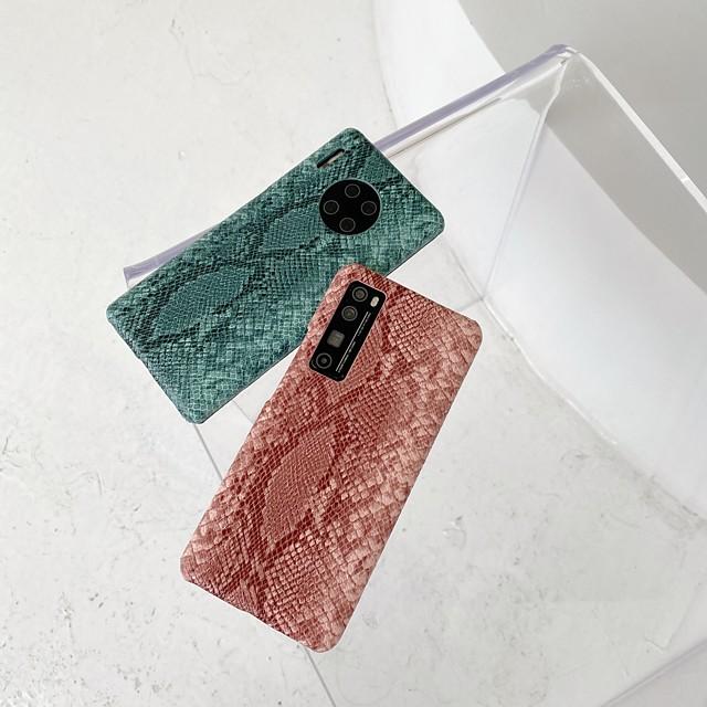 Pouzdro Uyumluluk Huawei Huawei P30 / Huawei P30 Pro / HUAWEI P40 Şoka Dayanıklı Arka Kapak Çizgiler / Dalgalar TPU