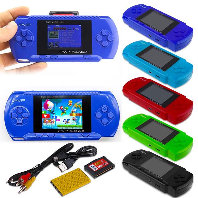268 Games in 1 Consoles de Jeu Portative Console de jeu Mini poche portable portable Thème classique Jeux vidéo rétro avec 2 pouce Écran Enfant Adulte Garçon Fille 1 pcs Jouet Cadeau