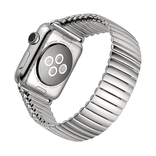 Uita-Band pentru Apple Watch Series 6 / SE / 5/4 44mm / Apple Watch Series 6 / SE / 5/4 40mm / Apple Watch Series 3/2/1 38mm Apple Banda de afaceri Oțel inoxidabil Curea de Încheietură