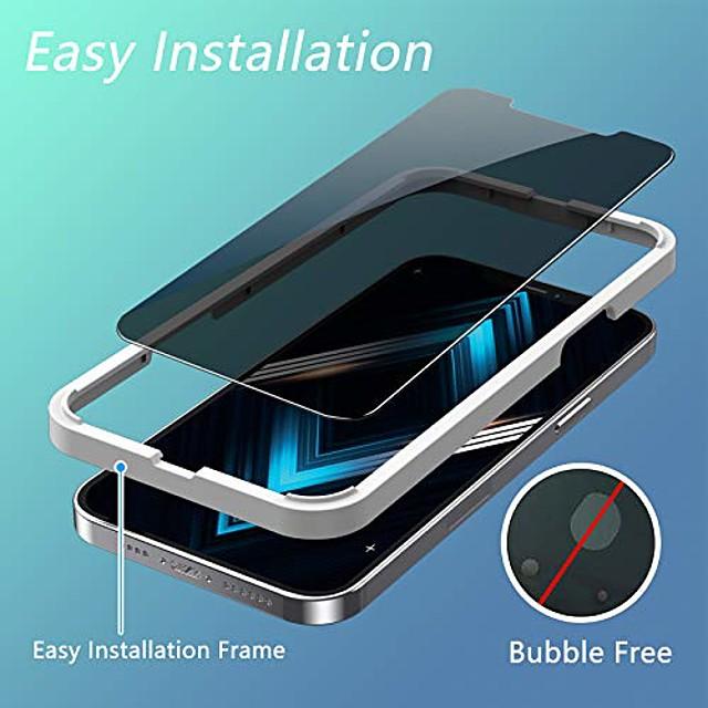 telefoon Screenprotector Apple iPhone 12 iPhone 11 iPhone 12 Pro Max iPhone XR iPhone 11 Pro Gehard Glas 3 stuks High-Definition (HD) 9H-hardheid Krasbestendig Voorkant screenprotector Mobiele