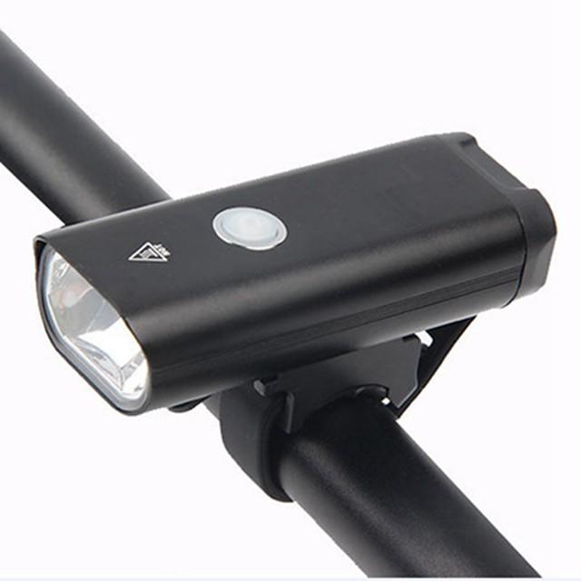 LED Luci bici Impermeabile Illuminazione Luce frontale per bici LED Bicicletta Ciclismo Impermeabile Super luminoso Portatile Professionale Batteria ricaricabile agli ioni di litio 400 lm Batteria
