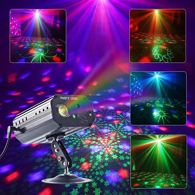 Lampe Projecteur Etoile Galaxie Projecteur Lumière Eclairages de Scène Télécommandé Télécommande Projecteur de lumière laser Soirée Mariage Cadeau Rouge Laser