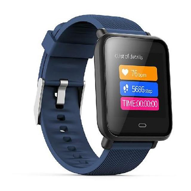 waza q9 continue hr-bloeddrukmeter multi-sportmodus kleurenschijven ip67 smart watch