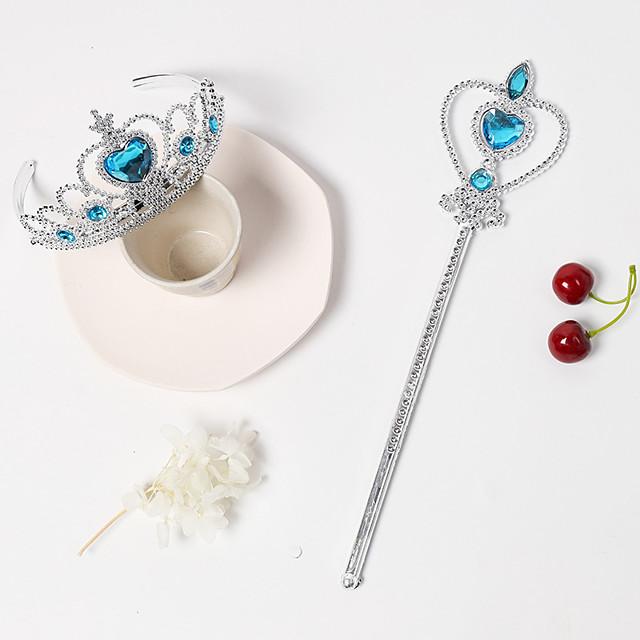 2pcs Kids Girls' Sweet Heart Heart Hair Accessories Blue / Purple / Red One-Size