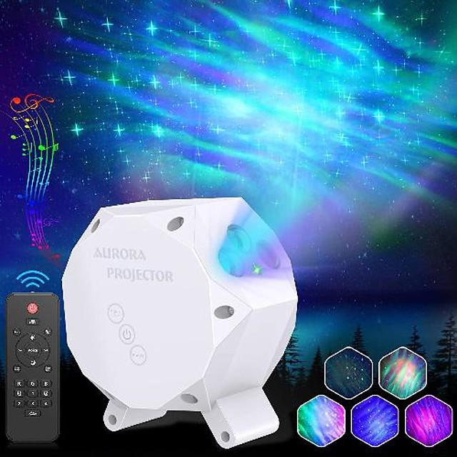 Lampe Projecteur Etoile Galaxie Projecteur Lumière Télécommandé Projecteur Star Light Télécommande Soirée Mariage Cadeau Plusieurs Couleurs