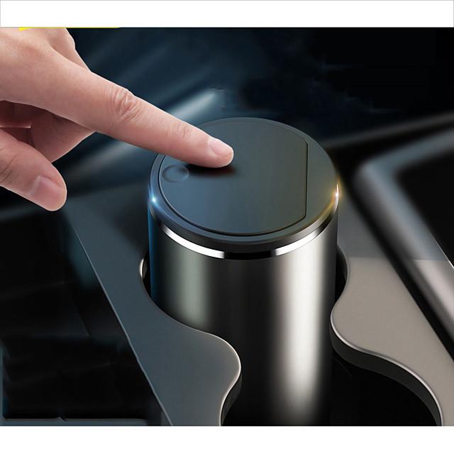 auto in lega di baseus cestino per auto organizer custodia per auto bidone della spazzatura posacenere portapolvere accessori auto