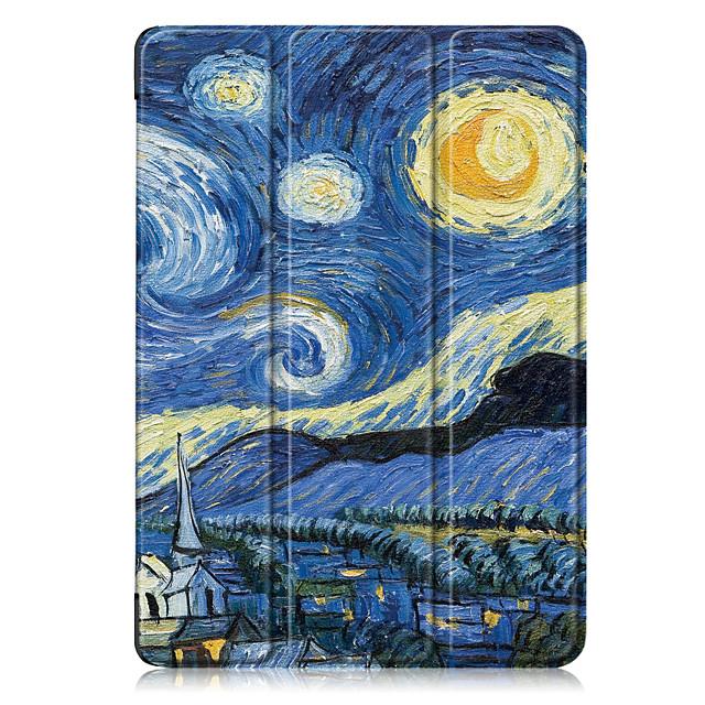 telefono Custodia Per Apple Integrale iPad 8 (2020) 10.2 '' iPad 7 (2019) 10,2 pollici iPad Air 3 (2019) 10.5 '' Resistente agli urti Cartoni animati Cielo pelle sintetica TPU