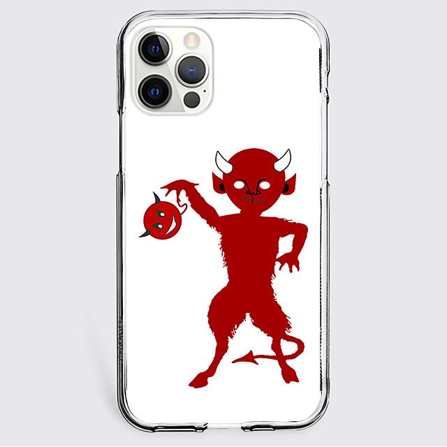 Tegneserie Sak Til eple iPhone 12 iPhone 11 iPhone 12 Pro Maks Unikt design Beskyttelsesveske Støtsikker Bakdeksel TPU