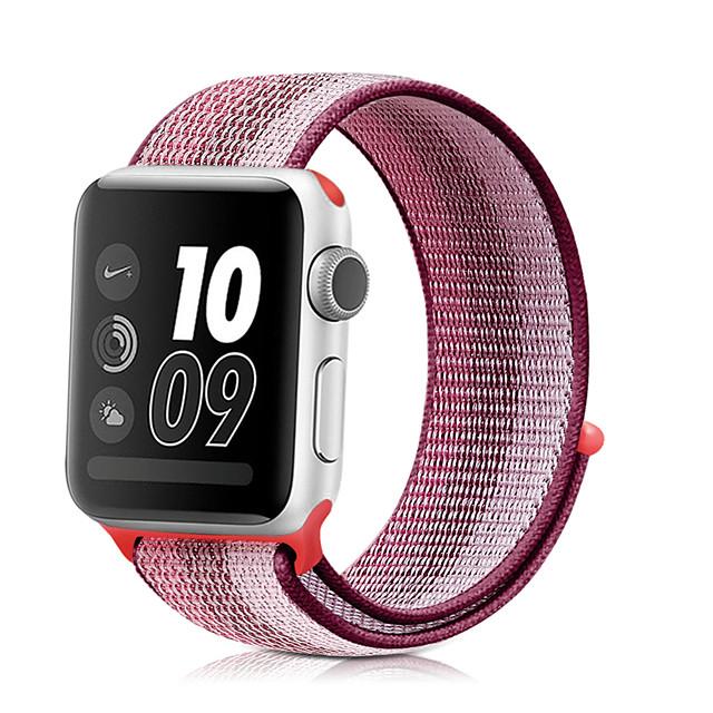 Cinturino intelligente per Apple  iWatch 1 pcs Cinturino sportivo Nylon Sostituzione Custodia con cinturino a strappo per Apple Watch Serie 6 / SE / 5/4 44 mm Apple Watch Serie 6 / SE / 5/4 40mm