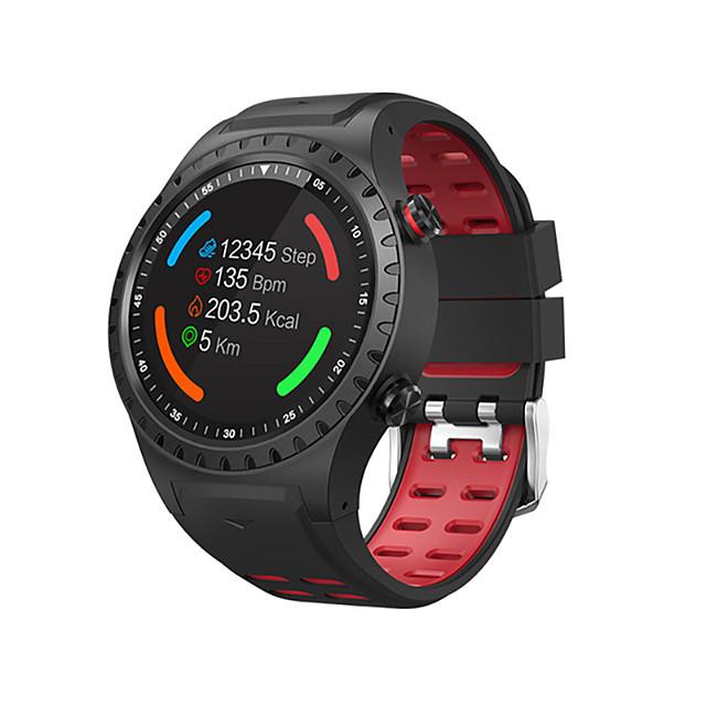 SMA M1S 남성용 스마트 시계 블루투스 방수 GPS 심장 박동수 모니터 혈압 측정 카메라 타이머 만보기 콜 알림 액티비티 트렉커 슬립 트렉커