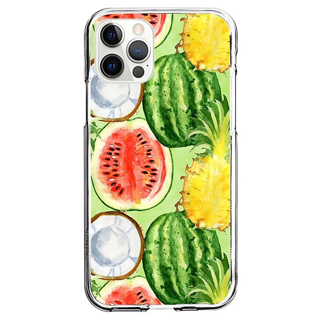 Voedsel Geval Voor appel iPhone 12 iPhone 11 iPhone 12 Pro Max Uniek ontwerp Beschermende hoes Schokbestendig Achterkant TPU
