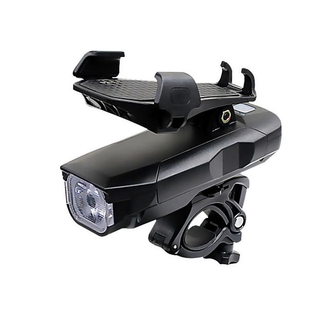 LED Eclairage de Velo Pinces et supports Eclairage de Vélo Avant Lumière de corne de vélo LED Vélo Cyclisme Imperméable Super brillant Professionnel Ajustable Batterie Li-ion rechargeable 2500 lm