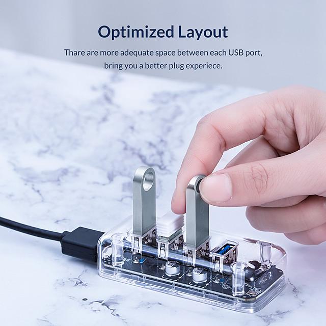 ORICO USB 3.0 에 USB 3.0 USB 허브 4 항구 제품 Windows, PC, 노트북