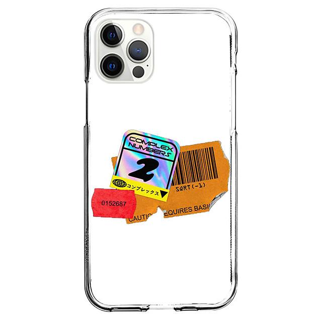 Patroon Modieus Geval Voor appel iPhone 12 iPhone 11 iPhone 12 Pro Max Uniek ontwerp Beschermende hoes en schermbeschermer Schokbestendig Achterkant TPU