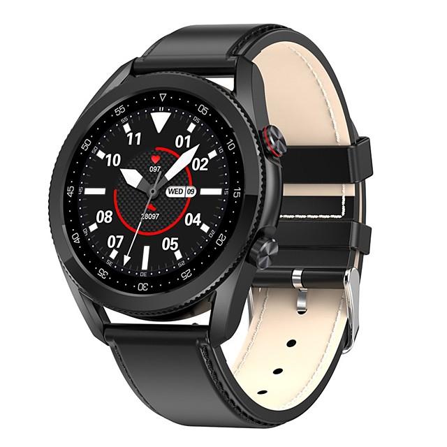 L19 Uniseks Smart horloge Bluetooth Hartslagmeter Bloeddrukmeting Verbrande calorieën Gezondheidszorg Informatie Stopwatch Stappenteller Gespreksherinnering Activiteitentracker Sedentaire herinnering