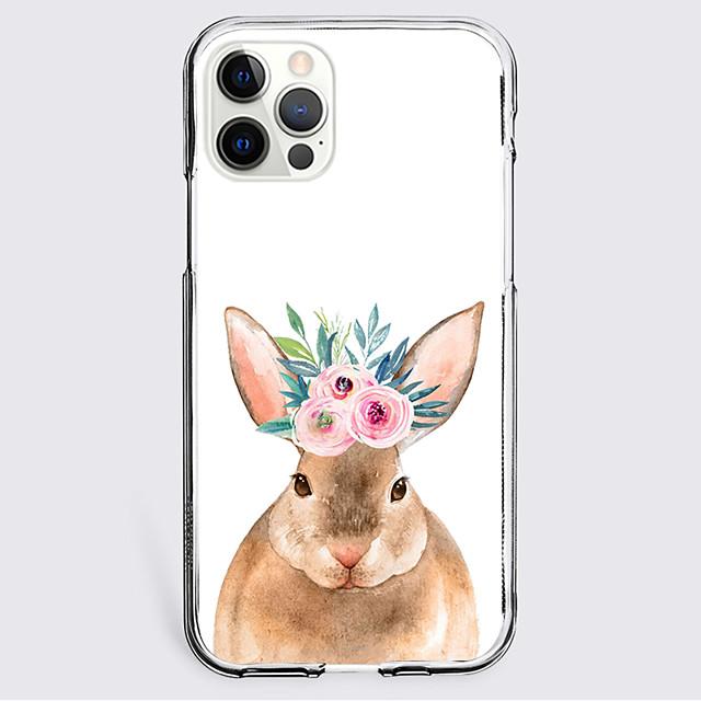dier Geval Voor appel iPhone 12 iPhone 11 iPhone 12 Pro Max Uniek ontwerp Beschermende hoes Schokbestendig Achterkant TPU