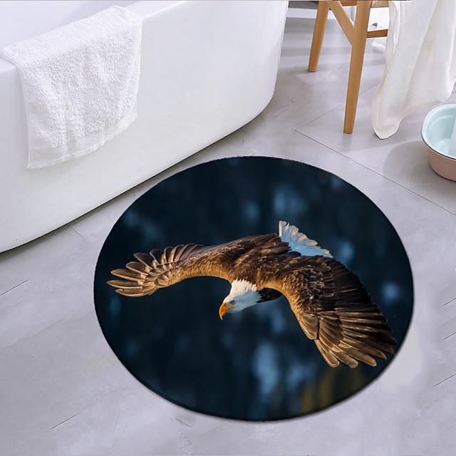 vliegende adelaar ronde mat tapijt deurmat slaapkamer woonkamer tapijt studeerkamer tapijt keuken badkamer antislipmat