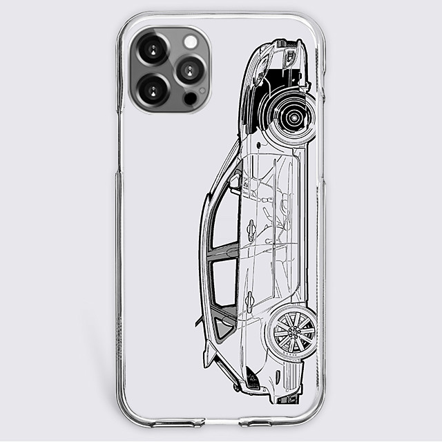 Contemporary Fashion Case For Apple iPhone 12 iPhone 11 iPhone 12 Pro Max Unique Design Protective Case Shockproof Back Cover TPU