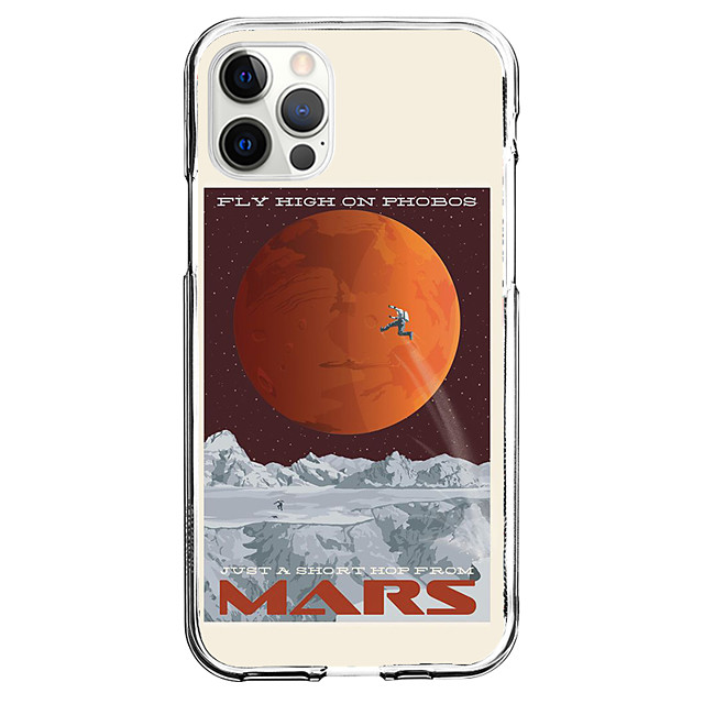 Universe Novelty Case For Apple iPhone 12 iPhone 11 iPhone 12 Pro Max Unique Design Protective Case Shockproof Back Cover TPU