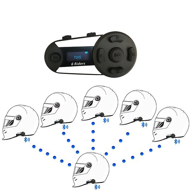 Bluetooth 4.2 Hjelm headset Vandtæt / FM-radio Motercykel