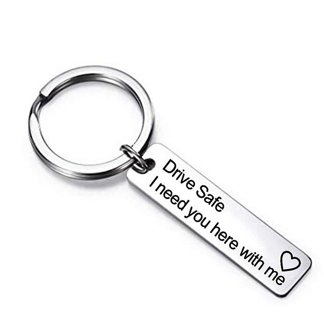 rijden veilig sleutelhanger valentijnsdag geschenk dag vaderdag verjaardagscadeau ik heb je hier bij mij nodig voor echtgenoot papa vriendje