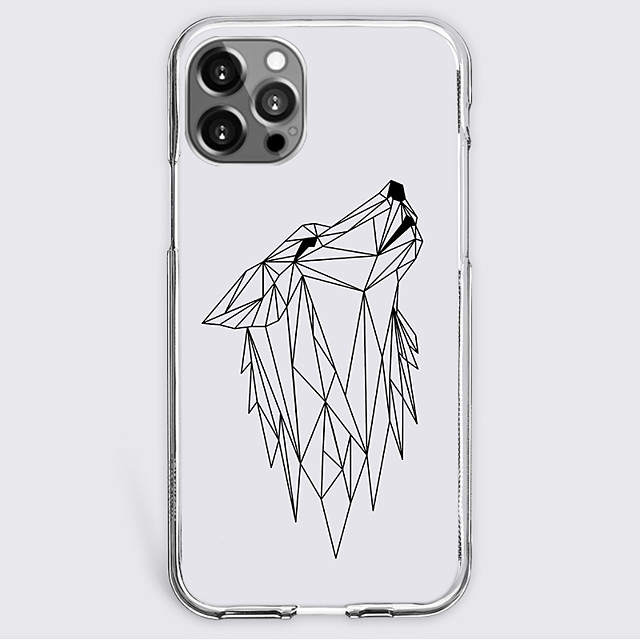 Graphic Prints Geometry Case For Apple iPhone 12 iPhone 11 iPhone 12 Pro Max Unique Design Protective Case Shockproof Back Cover TPU