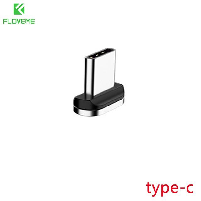 FLOVEME Micro USB Adaptateur Normal Transmission de données Chargeur de téléphone 2 A Aluminium Pour Samsung Xiaomi Huawei Accessoire de Téléphone
