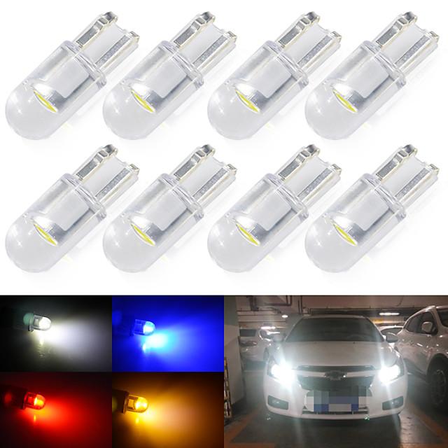 Automatique LED Lumière de Plaque d'Immatriculation / Feux de position latéraux Ampoules électriques COB 1 W 1 Pour Universel Toutes les Années 10 pièces
