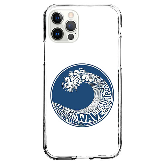 Nautical Fashion Case For Apple iPhone 12 iPhone 11 iPhone 12 Pro Max Unique Design Protective Case Shockproof Back Cover TPU