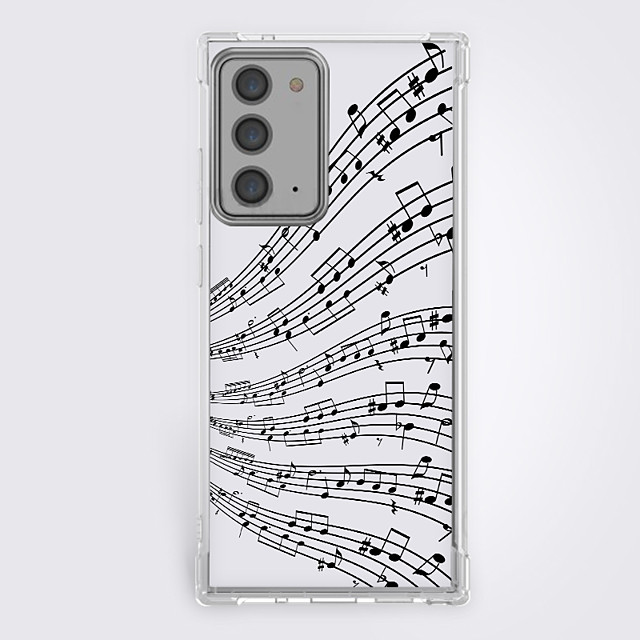Curve Music Case For Samsung Galaxy S21 Galaxy S21 Plus Galaxy S21 Ultra Unique Design Protective Case Shockproof Back Cover TPU