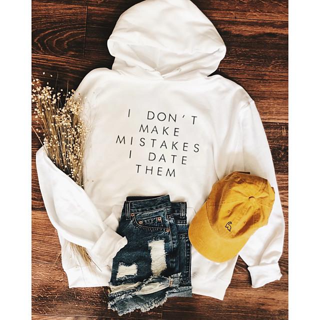 Women's Pullover Hoodie Sweatshirt Graphic Text Letter Daily Weekend Basic Casual Hoodies Sweatshirts  White Black