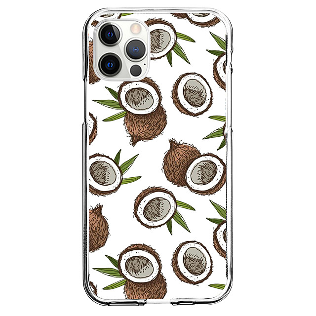 Coconut Case For Apple iPhone 12 iPhone 11 iPhone 12 Pro Max Unique Design Protective Case Shockproof Back Cover TPU