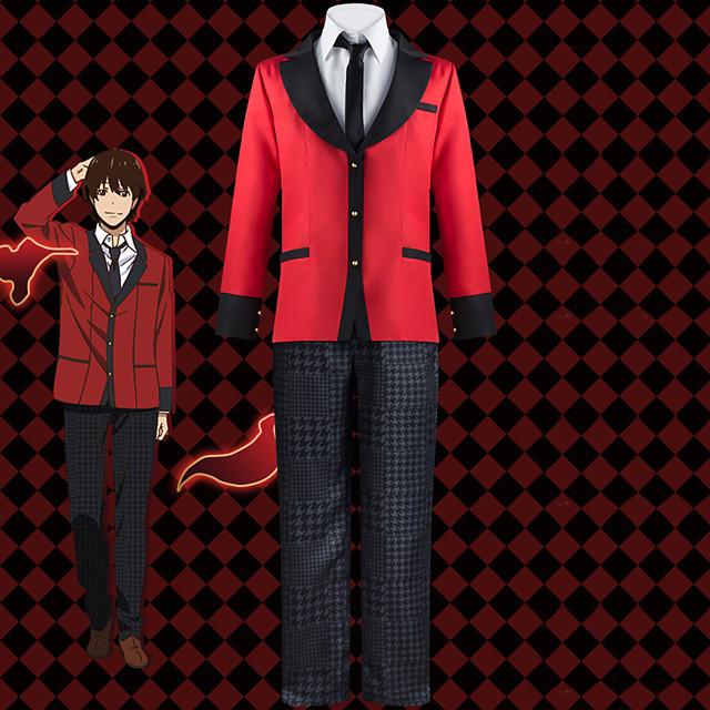 Inspired by Kakegurui / Compulsive Gambler Ryota Suzui Anime Cosplay Costumes Japanese Cosplay Suits School Uniforms Coat Blouse Pants For Men's / Tie