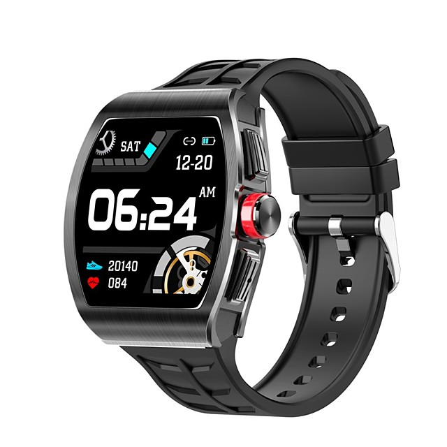 TK18 Unisex Smartwatch Bluetooth Heart Rate Monitor Blood Pressure Measurement Calories Burned Health Care Camera Control Stopwatch Pedometer Call Reminder Activity Tracker Sleep Tracker
