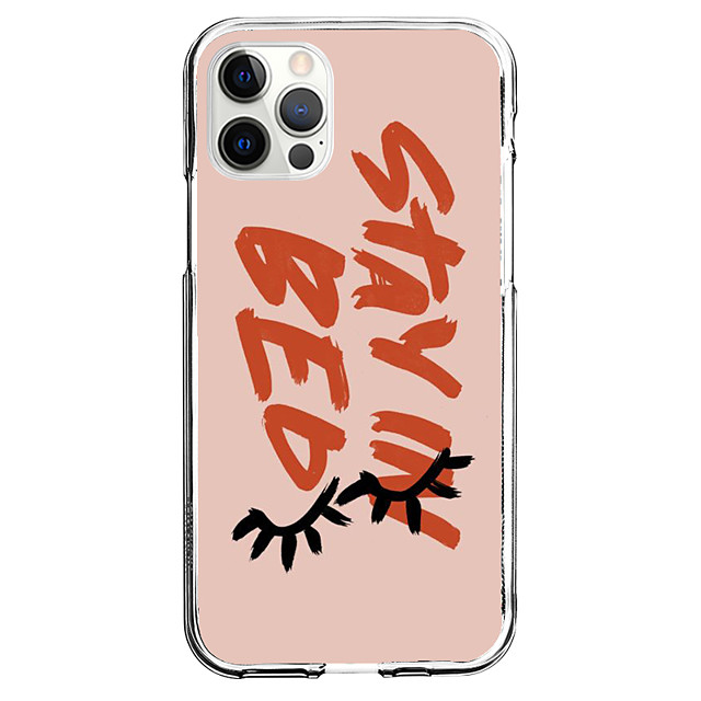 Novelty Quotes & Sayings Case For Apple iPhone 12 iPhone 11 iPhone 12 Pro Max Unique Design Protective Case Shockproof Pattern Back Cover TPU