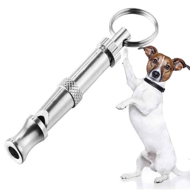 Dresaj câine Antrenament Fluier de câine cu pitch reglabil Uşor de Folosit Ultrasonic Câine Portabil Siguranță Aliaj Fluiere Pentru animale de companie