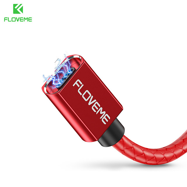 FLOVEME Micro USB Câble Normal Transmission de données Chargeur de téléphone 2.4 A 1.0m (3ft) Aluminium Pour Samsung Xiaomi Huawei Accessoire de Téléphone