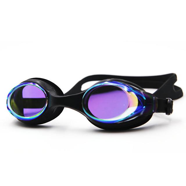 Lunettes de natation Etanche Antibrouillard Protection UV Miroir Plaqué Pour Enfant Gel de silice Polycarbonate Blanc Incarnadin Gris Incarnadin Gris Noir