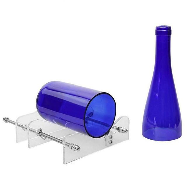 أداة تقطيع زجاجات الزجاج الطويلة الاحترافية لأمان زجاجات النبيذ سهلة الاستخدام وأدوات يدوية ذاتية الصنع