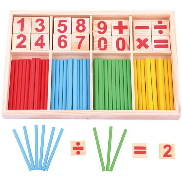 Outil pédagogique Montessori Jouet Educatif Jouets Educatifs Mathématiques compatible En bois Legoing Economique Éducation Classique Garçon Fille Jouet Cadeau / Enfant