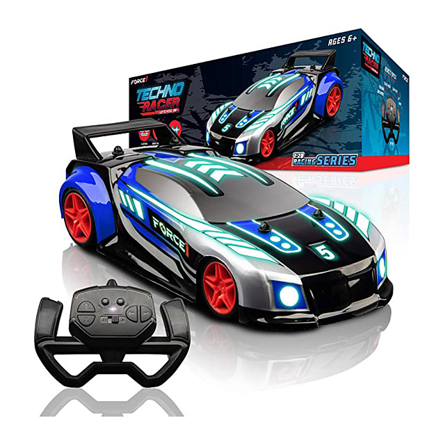 Toy Car Remote Control Car Rechargeable 360° Rotation Remote Control / RC Music & Light 1:20 Car (On-road) Stunt Car Racing Car 2.4G For Kid's Adults' Gift