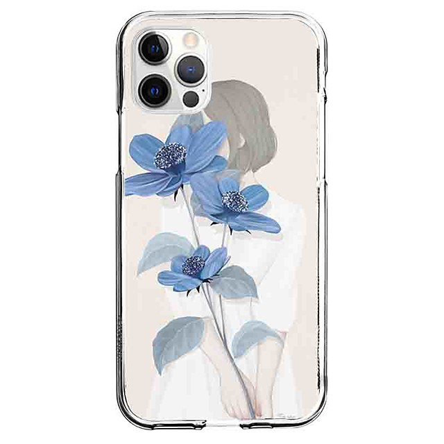 Painting Pattern Case For Apple iPhone 12 iPhone 11 iPhone 12 Pro Max Unique Design Protective Case Pattern Back Cover TPU