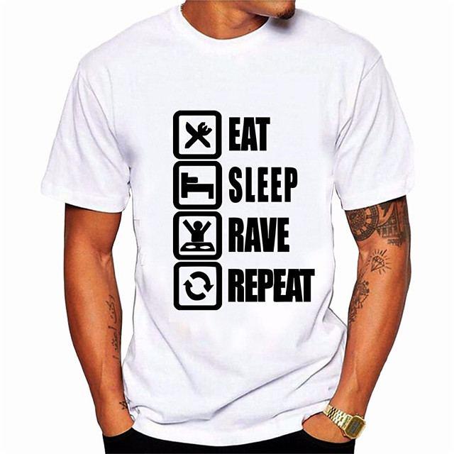 Men's Unisex Tees T shirt Hot Stamping Letter Plus Size Print Short Sleeve Daily Tops 100% Cotton Basic Casual Big and Tall White Black Blue