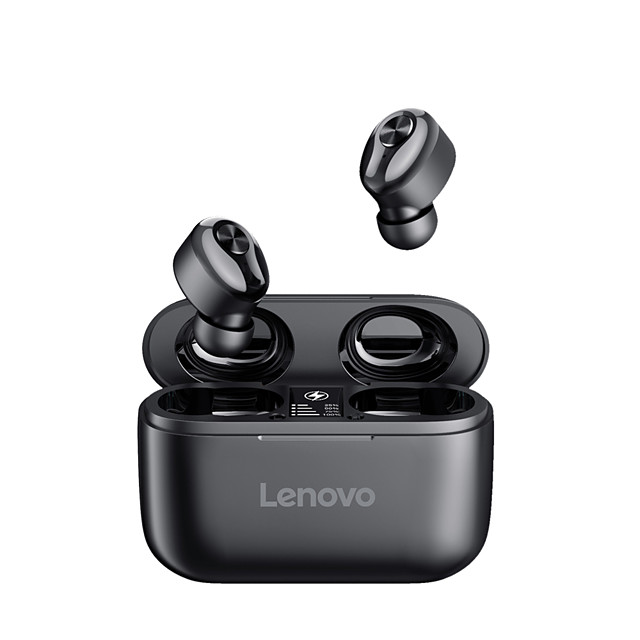 Lenovo HT18 Wireless Earbuds TWS Headphones Bluetooth Earpiece Bluetooth5.0 Stereo HIFI with Charging Box Auto Pairing for for Mobile Phone