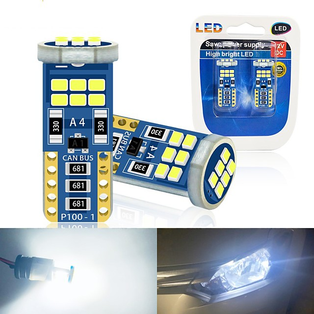 Car LED Side Marker Lights Light Bulbs SMD 2835 5 W 18 For universal All years 10pcs