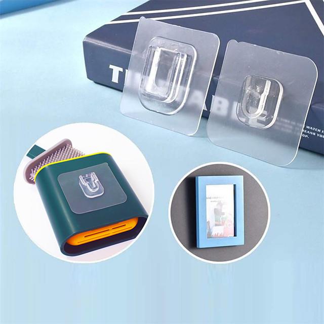 Gancho Auto-Adhesivas / Múltiples Funciones / Reutilizable Contemporáneo moderno El plastico 10 piezas / 9 piezas Accesorios de baño / organización del baño